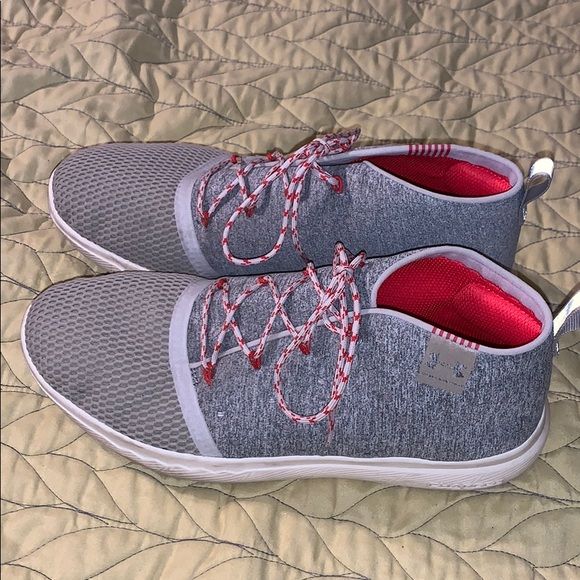 Gray casual Under Armour Court Shoes